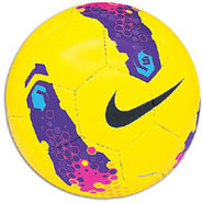 Nike5 Indoor Soccer Ball - Yellow/Purple