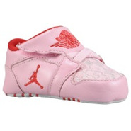 1st Crib - Girls Infant - Ion Pink/Gym Red