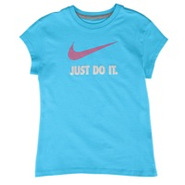 JDI Swoosh S/S T-Shirt - Girls Grade School - Balt