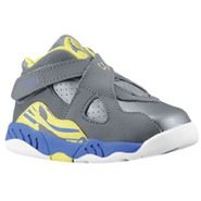 Retro 8 - Girls Toddler - Cool Grey/Violet Force/E
