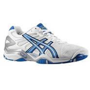 Gel Resolution 5 - Mens - White/Royal Blue/Lightni