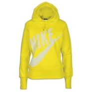 Light Weight Pullover Hoodie - Womens - Yellow