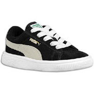 Suede Classic - Boys Toddler - Black/White