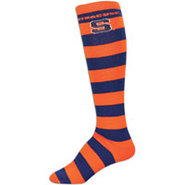 Syracuse Orange For Bare Feet College Crew Sock -