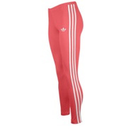 Three Stripe Leggings - Womens - Red Zest/White