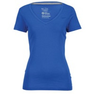 Classic Swoosh V-Neck T-Shirt - Womens - Royal