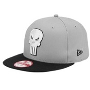 Hero Gray Classic Snapback - Mens - White/Grey