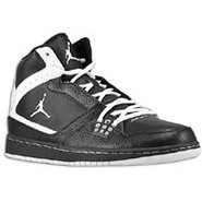 1 Flight - Mens - Black/White/Black