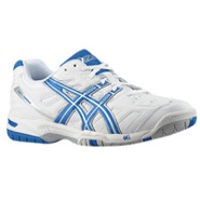 Gel Game 4 - Mens - White/Royal/Silver