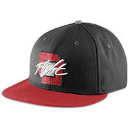 Retro 5 True Snapback Cap - Mens - Black/Universit