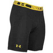 Heatgear Sonic Compression Short - Mens - Black/Ta