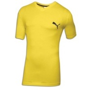 Iconic V-Neck S/S T-Shirt - Mens - Blazing Yellow