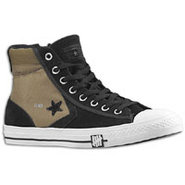 Star Player Hi Suede - Mens - Black/White