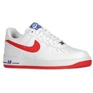 Air Force 1 Low - Mens - White/University Red