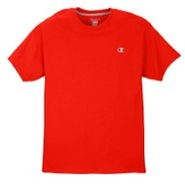 Jersey Short Sleeve T-Shirt - Mens - Crimson