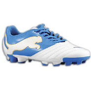 Powercat 3.12 FG - Boys Grade School - White/Puma