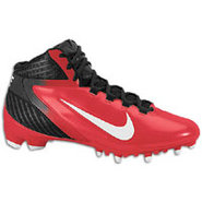 Alpha Speed TD 3/4 - Mens - Black/White/Game Red