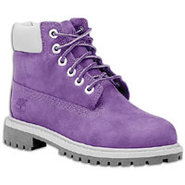 6  Waterproof Boot - Girls Toddler - Purple/Grey