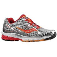 Guide 6 - Womens - Silver/Red/Orange