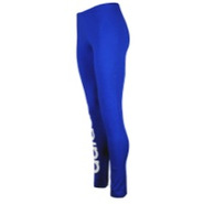 Trefoil Leggings - Womens - True Blue/White