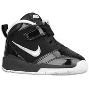 Team Hustle D 5 - Boys Toddler - Black/Metallic Si