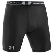 Heatgear Compression Short - Mens - Black/Steel