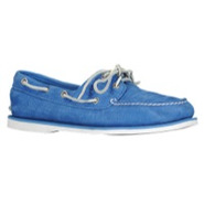 Classic 2-Eye Boat Shoe - Mens - Blue Nubuck