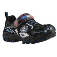 Damager Police II - Boys Preschool - Black/Silver/