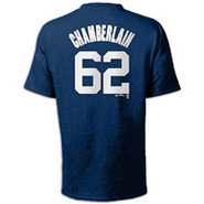 Joba Chamberlain Majestic MLB Name and Number T-Sh