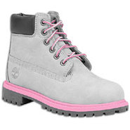 6  Waterproof Boot - Girls Toddler - Grey/Pink