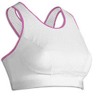 Xtra Support Bra - Womens - White/Raspberry