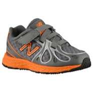 890 V3 - Boys Toddler - Grey/Orange