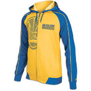 Golden State Warriors adidas NBA Full-Zip Hoodie -