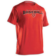 Dugout T-Shirt - Mens - Red/Black