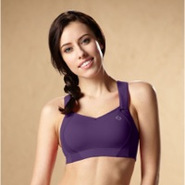 Juno High-Impact Sports Bra - Womens - Berry