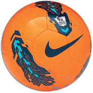 League Pitch Soccer Ball - Orange/Blue