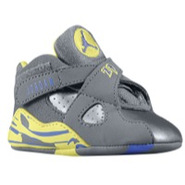 Retro 8 - Girls Infant - Cool Grey/Violet Force/El