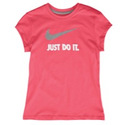 JDI Swoosh S/S T-Shirt - Girls Grade School - Dyna