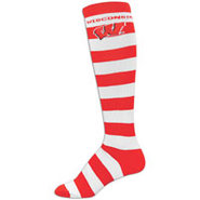 Wisconsin Badgers For Bare Feet College Crew Sock