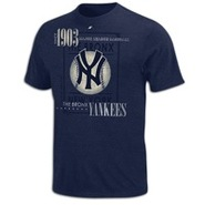 New York Yankees Majestic Cooperstown Baseball T-S