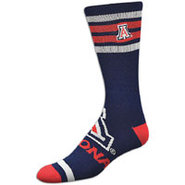 Arizona Wildcats For Bare Feet College Crew Sock -