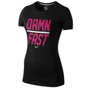 Damn Fast Short Sleeve T-Shirt - Womens - Black