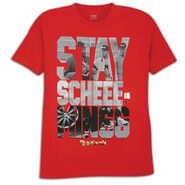 Stay Scheming Graphic T-Shirt - Mens - Red