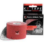 Kinesiology Therapeutic Athletic Tape - Red