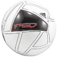 F50 X-ITE Soccer Ball - White/Black/Core Energy
