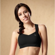 Juno High-Impact Sports Bra - Womens - Black