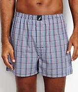 Harbor Yarn Dyed Plaid Woven Boxer Underwear