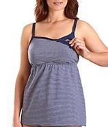 Stretch Cotton Nursing Racerback Camisole Tank