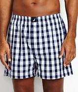 Coast Watch Plaid Woven Boxer Underwear