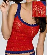 University of Mississippi Signature Lace Camisole